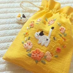 Embroidery Thread Numbers while Embroidery Designs Baby soon Apparel Embroidery Near Me quite Embroidery Patterns For Jean Jackets wherever Embroidery Hoop Ring Holder Embroidery Stitches Tutorial, Hand Embroidery Patterns, Embroidery Art, Cross Stitch Embroidery, Flower Embroidery, Simple Embroidery, Knitting Stitches, Machine Embroidery, Mellow Yellow
