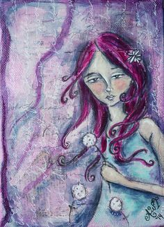 Check out this item in my Etsy shop https://www.etsy.com/listing/208263274/the-wish-5x7-original-mixed-media
