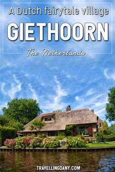 Giethoorn is a Dutch village in the Netherlands' countryside. Hidden away by the modern society, it's the perfect place for some digital detox. Cars are forbidden and you can only explore by foot or boat. Let's see how to get there, what to do in Giethoorn and how to enjoy this little piece of Paradise! | #Giethoorn #TheNetherlands #Dutch #Dutchvillage #fairytale