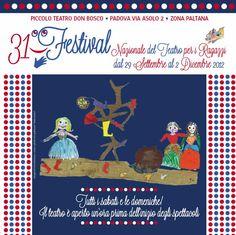 Torna il Festival Teatro Ragazzi a Padova http://www.hotel-padova.com/padova-teatro-ragazzi-31-festival-calendoli/