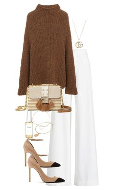 Untitled #5388 by theeuropeancloset on Polyvore featuring Ralph Lauren Collection, Yves Saint Laurent, River Island, Gucci, CINDERELA B, Dogeared and Ouai