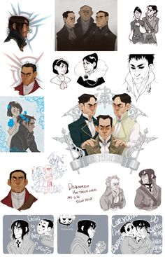 DISHONORED DOODLES by AgentDax on deviantART