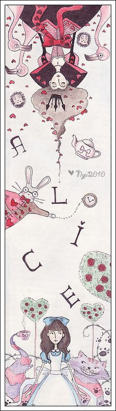 Alice in Wonderland by froilyan.deviantart.com on @deviantART