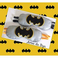 Máscaras de dormir de feltro! Batman