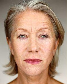 Helen Mirren - Up Close & Personal -Celebrity Photography By Martin Schoeller