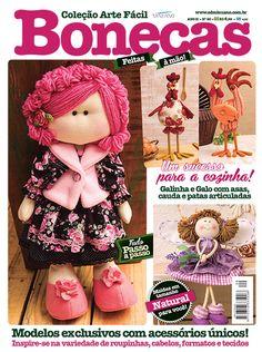Artesanato - Bonecas : COL ARTE FACIL BONECAS 020 - Editora Minuano
