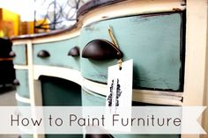 This is the first part of an on-going series of how to paint furniture. Back when I was learning how to paint furniture, I went from zero to information overload while trying to research th…