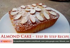 Almond Cake Step By Step Recipe | Ainy Cook Recipes at KFoods