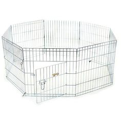 Titan Portable Animal Exercise Silver Kennel/ Pen ** Special dog product just for you. See it now! : Dog kennels
