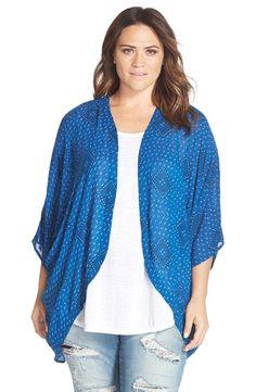 Plus Size Kimono Jacket