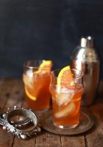 Spiced orange Moroccan cocktail