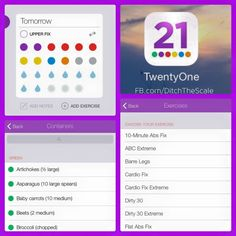 Heads Up 21 Day Fix Followers – The  #21DayFix Tracker App is Back and it now includes 21DayFix and #21DayFixExtreme ( This Tool)     CLICK The Pic to get Direct Links to Android and Apple Apps