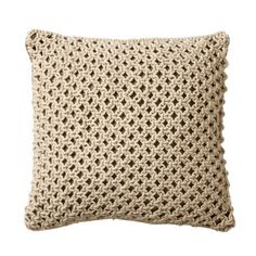 Threshold Jute Decorative Pillow