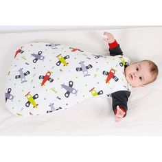 """Standard tog), classic baby sleeping bag """"Airplanes"""" ~ comfortable and convenient; can be used all year long. Newborn Sleeping Bag, Sleeping Bags, Toddler Bed, Child Sleep, Kids Rugs, Airplanes, Children, Classic, Room"""