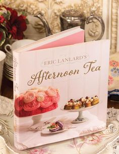 Afternoon Tea Cookbook from Victorian Trading Co. Victorian Cookbooks, Eric Lanlard, Cake Decorating Books, Victorian Trading Company, Afternoon Tea Parties, Paper Supplies, Coming Up Roses, Cookbook Recipes, No Bake Cake