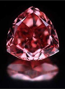 The Rare Moussaieff Red Diamond