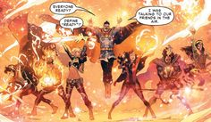 Civil War II da squad, between Daimon and Billy and the Doctor Strange… Arte Dc Comics, Marvel Comics Art, Marvel Heroes, Marvel Fan, Captain Marvel, Marvel Comic Character, Marvel Characters, Marvel Movies, Marvel Universe