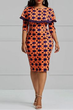 Take a look at the best geometric print dress in the photos below and get ideas for your outfits! African Fashion Ankara, Latest African Fashion Dresses, African Inspired Fashion, African Print Fashion, Short African Dresses, African Print Dresses, Jw Moda, Mode Rihanna, Ankara Dress Styles