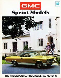 1971 GMC Sprint Models