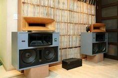 Vintage audio Altecs speakers (fb)