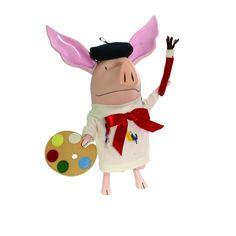"Olivia The Artist Pig: Plush Madame Alexander 10"" Doll | Ty's Toy Box"