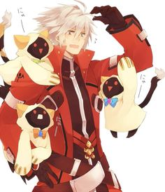 I wouldn't mind if Ragna was taking care of me... :3