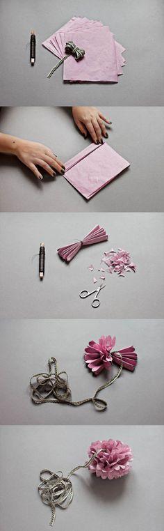 Easy Paper Flower | DIY & Crafts Tutorials