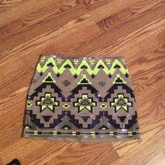 Express Aztec print skirt Express Aztec Print skirt. Express Skirts