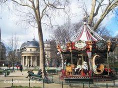 Merry-go-round in Parc Monceau #Paris on www.travelfranceonline.com