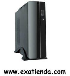 """Ya disponible Caja mini itx/m atx uk    (por sólo 41.89 € IVA incluído):   -Formato:Mini ITX / Micro ATX -Bahias externas:1 x 5,25"""" -Bahias internas: 1 x 3.5"""" 1 x 2.5"""" -Conectores frontal:USB/ audio/ microfono  -Ventilador adicional: Lateral 8cm -Fuente:400w -Medidas:39 cm X 30 cm X 10 cm. -Display:NO -Color:Negropiano -Extras: Soporte vertical con gran superficie de apoyo y asa superior integrada. Sistema vertical patentado mulit-heat para una óptima ventilación.  -P/N"""