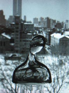André Kertesz, Polaroïd from his window in NY, near Whashington square, 1979
