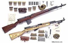 Miltech Vintage Restored Military Firearms including M1 Garand , M1903 Springfield, M1941 Johnson, M1917 Enfield, M1 Carbine, Model 98K German Mauser