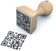 QR stamp - Stempel