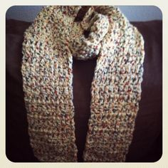76L x 5W very thick and warm crochet scarf. Off white with multicoloring in it. Great for cold wheather! $30 plus FREE shipping within the U.S.! Buy now at ----> https://www.etsy.com/listing/200348953/thick-crochet-scarf