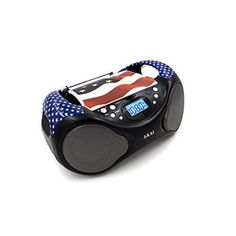* Top Load CD Mechanism* FM Radio LCD Display with Backlight* Line-in function* Built-in Speakers* Extendable Metal Antenna* Compatible to CD/CDR Cool Electronics, Consumer Electronics, Radio Usa, Tech Toys, Ipod Nano, Built In Speakers, Boombox, Walkie Talkie, Digital