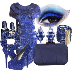 Blue Bliss by kristy-depompeis on Polyvore