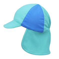 Our baby and kids SPF 50+ swim hats are reversible and have a velcro closing 8b84346811e