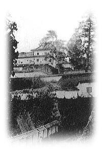 高取城 現存する唯一の写真