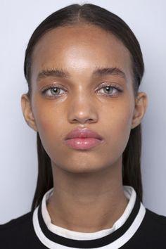 Black Is Beautiful, Beautiful Eyes, Dark Skin Models, Beauty Makeup, Hair Beauty, Model Face, Light Skin, Woman Face, Pretty Face