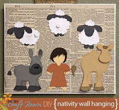 Away In a Manger Cutting Collection: WPC, AI, and SVG cutting files - Pazzles Craft Room