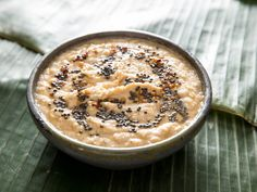 This is the blueprint for the classic coconut chutney, often eaten alongside idlis and dosai, although it's versatile enough to serve with grilled fish or vegetables. Indian Food Recipes, Asian Recipes, Vegetarian Recipes, Indian Foods, Indonesian Recipes, Orange Recipes, Coconut Recipes, Low Carb Recipes, Cooking Recipes