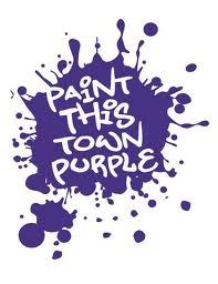 Can't wait to paint the town purple