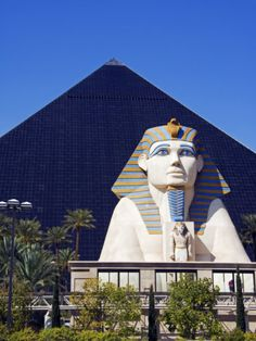 """Las Vegas, Luxor...Site of """"Exit Stage Left"""" with Alexander Drake and Megan O'Day."""