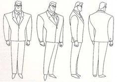 Superman Model Sheets