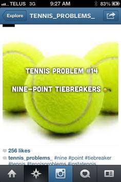 Tennis probs