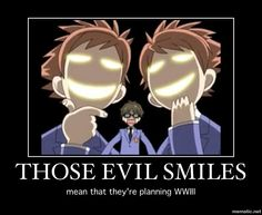 Ouran High School Host Club Hikaru & Kaoru Hitachiin - the mischievous type