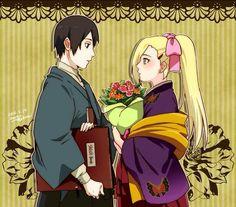 Naruto// Ino and Sai
