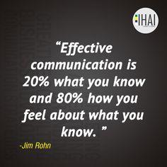 Effective communicat