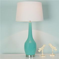 Turquoise lamp