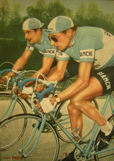 Nice hand coloured Coppi
